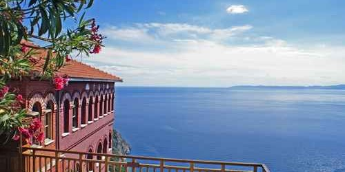 Meta Slider - HTML Overlay - Agia Anna monastery guesthouses in Mount Athos